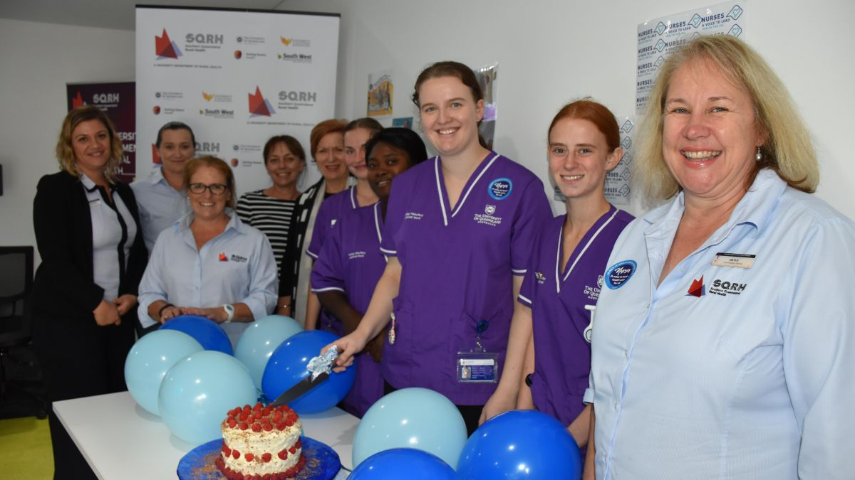 International Nurses Day At Sqrh Office Staff And Observational Placement Students