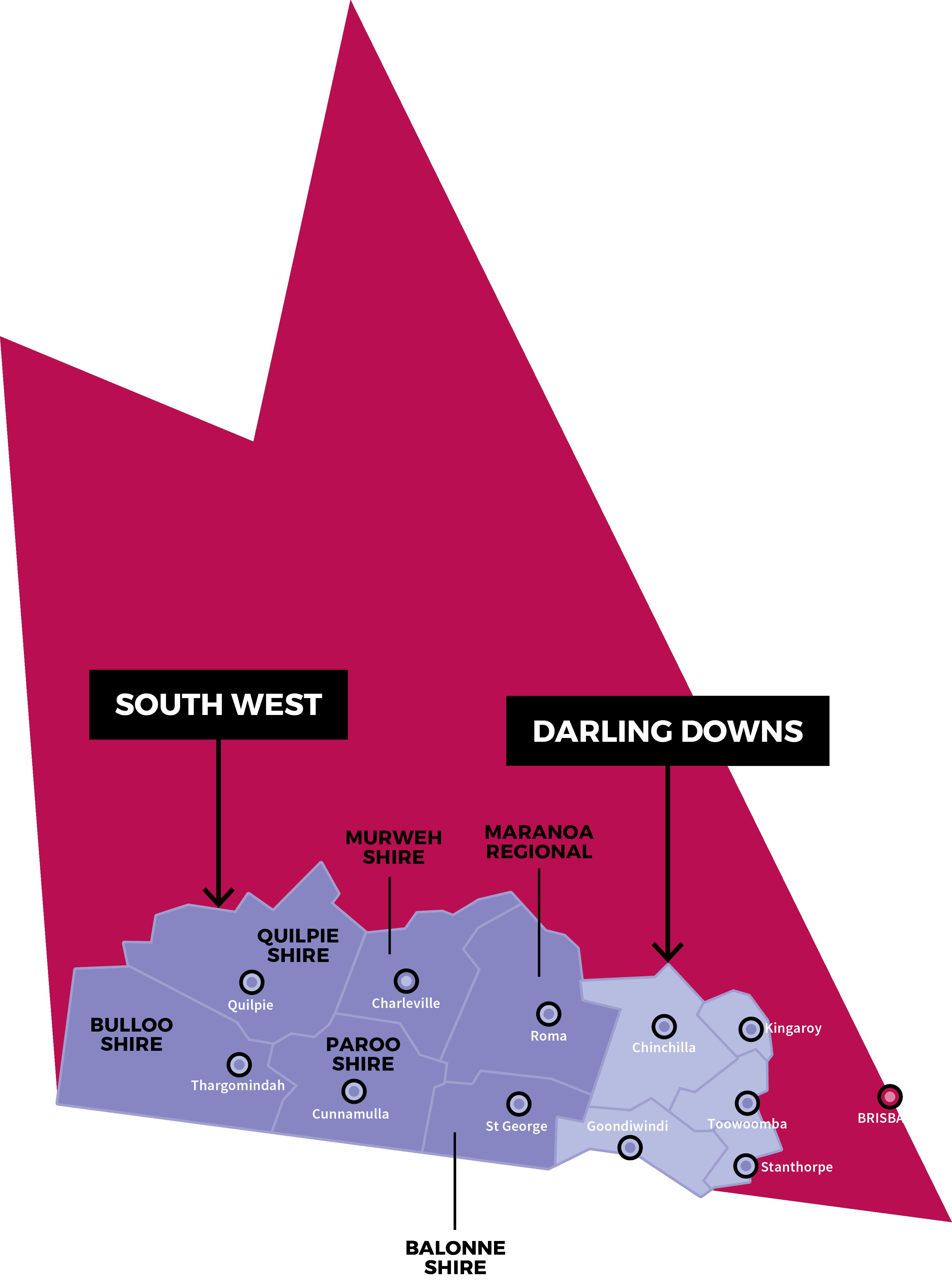 SQRH 1803055 Website Design Map Local Govts